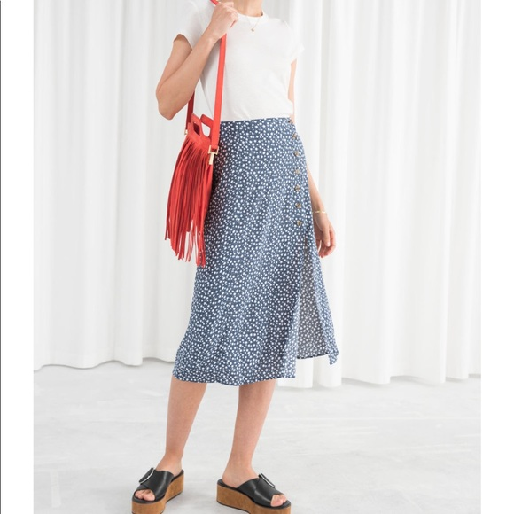 9abefb0a0 Reformation Skirts | And Other Stories Asymmetrical Skirt Bnwt ...